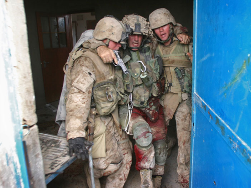 MARINE FROM FAMOUS WAR PHOTO WAS ROBBED AND BEATEN BY 'BLACK LIVES MATTER' TEENS