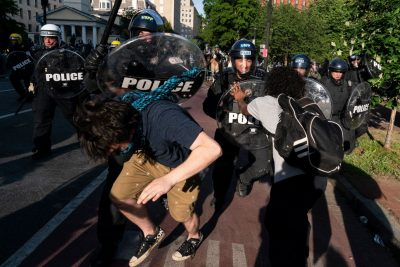 The Police Showed Up And Taught Antifa A VERY Valuable Lesson!