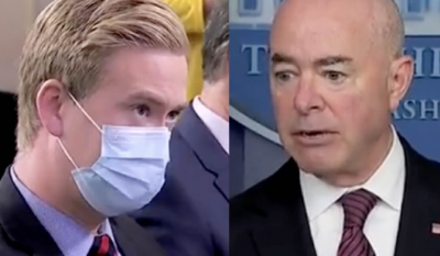 Peter Doocy Asked Biden's DHS Chief A Simple Question And He TOTALLY Melted!